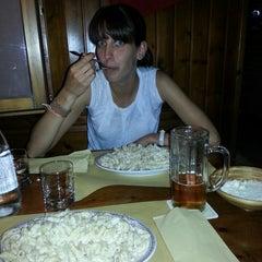Photo taken at Pub Birreria Spaghetteria da Agostino by Niccolò G. on 7/17/2013