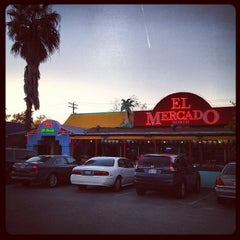 Photo taken at El Mercado by Jade H. on 11/1/2012