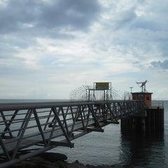 Photo taken at Muara Miri River by Albert Yap B. on 3/30/2013