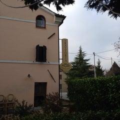 Photo taken at Trattoria Montechiaro by NATALK.A on 1/13/2014