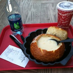 Photo taken at Pacific Wharf Café by Tim A. on 11/1/2012