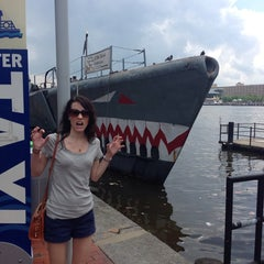 Photo taken at Historic Ships in Baltimore by Mike T. on 6/13/2014