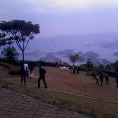 Photo taken at Bunyonyi Overland Resort by Isaac T. on 7/28/2013