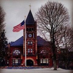 Photo taken at Thompson Hall by Ari H. on 1/6/2014