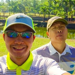 Photo taken at Camp Aguinaldo Golf Club by Augie P. on 4/1/2015