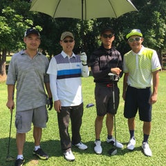 Photo taken at Camp Aguinaldo Golf Club by Augie P. on 5/2/2015