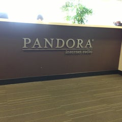 Photo taken at Pandora Media Headquarters by Masahiro K. on 11/29/2012