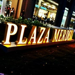 Photo taken at Plaza Merdeka by danish f. on 12/1/2012