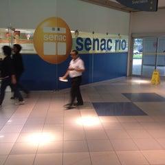 Photo taken at Senac Rio by Roberto G. on 8/14/2013