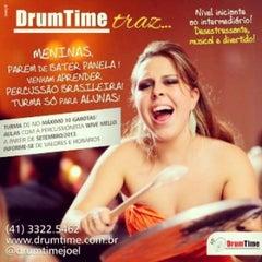 Photo taken at Drum Time - Escola de Bateria e Percussão by Joel J. on 9/30/2013