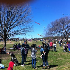Photo taken at Zilker Park by Marek P. on 3/3/2013