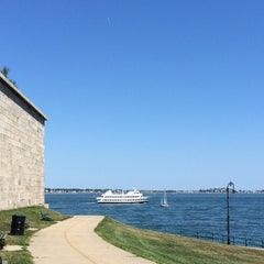 Photo taken at Fort Independence by Petri N. on 8/24/2014