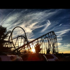Photo taken at Six Flags Great Adventure by Amanda D. on 9/16/2012