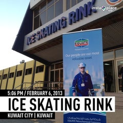 Photo taken at Ice Skating Rink by Abdulrahman A. on 2/6/2013