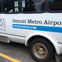 Photo taken at Four Points by Sheraton Detroit Metro Airport by Armie on 8/24/2013