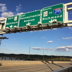 Photo taken at John Philip Sousa Bridge by Armie on 4/26/2015