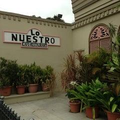 Photo taken at Lo Nuestro by Arturo d. on 8/13/2013