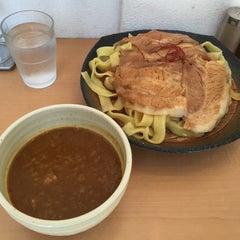 Photo taken at とろ肉つけ麺 魚とん by kochan 0. on 6/28/2015
