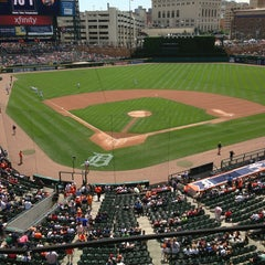 Photo taken at Comerica Park by Diane M. on 7/11/2013