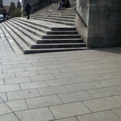 Photo taken at Parkinson Steps by Patrick O. on 4/29/2013