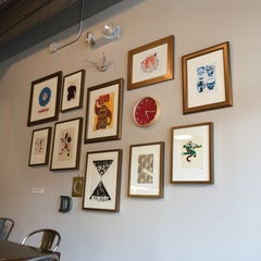 Photo taken at Dilworth Coffee House - The Original by Doris C. on 10/24/2014