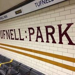Photo taken at Tufnell Park London Underground Station by Sam S. on 2/22/2013