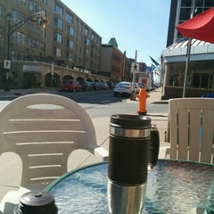Photo taken at Cabin Coffee by Nick B. on 5/16/2015