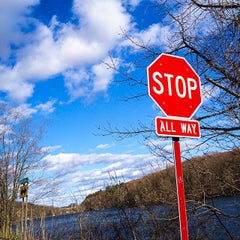 Photo taken at Tarrytown Lakes by Witchaphun P. on 4/24/2014