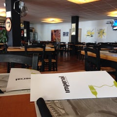 Photo taken at Imperial Pizzeria by Luis C. on 4/12/2014