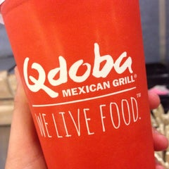 Photo taken at Qdoba Mexican Grill by Brooklynn on 11/22/2013