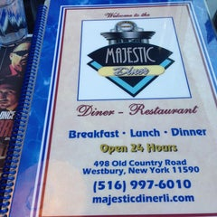 Photo taken at Majestic Diner by Liz T. on 4/28/2013