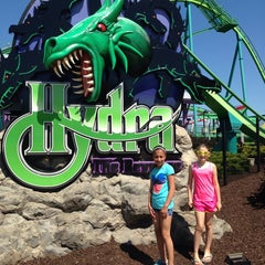 Photo taken at Hydra: The Revenge by Joseph C. on 5/25/2014