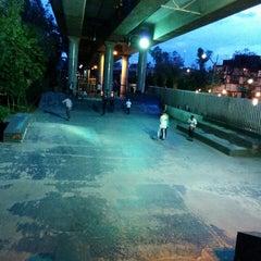 Photo taken at Skate Park by BombEro O. on 9/28/2014