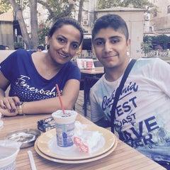 Photo taken at Damak Cafe by Ayşegül Asya E. on 7/20/2015