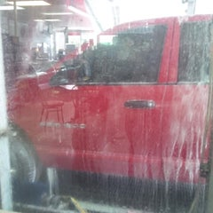 Photo taken at Car Wash Palace by Jordan K. on 6/27/2014