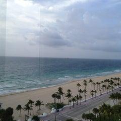 Photo taken at Courtyard by Marriott Fort Lauderdale Beach by Matt C. on 7/1/2013