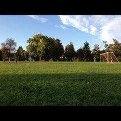 Photo taken at McNair Park by Dan G. on 10/16/2012