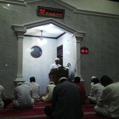 Photo taken at Masjid Baitul Jihad, Kemang Pratama 2 by M harun A. on 8/1/2013