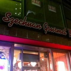 Photo taken at Szechuan Gourmet by Chris T. on 12/21/2012