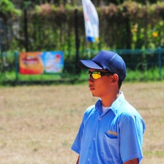 Photo taken at Lapangan Softball / Baseball Lodaya by Elshaaragoy F. on 8/2/2015