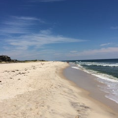 Photo taken at Fire Island Pines Beach by Alan on 8/22/2015