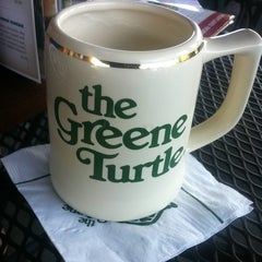 Photo taken at The Greene Turtle by Vincent B. on 6/14/2013