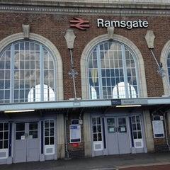 Photo taken at Ramsgate Railway Station (RAM) by 16feb81 on 9/8/2013