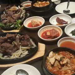Photo taken at Don's Bogam Korean BBQ & Wine by Shawn P. on 11/22/2013