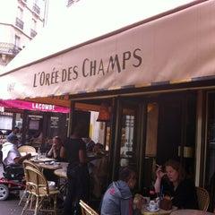 Photo taken at L'Orée des Champs by İlteriş Kutluk Y. on 7/30/2013