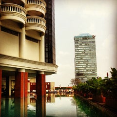Photo taken at The Tower Club at lebua by Jorel I. on 1/25/2013