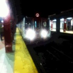 Photo taken at MTA Subway - J Train by Jamil M. on 1/9/2013