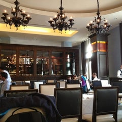 Photo taken at Morels French Steakhouse & Bistro by Konstantin S. on 1/9/2013