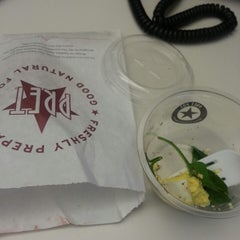 Photo taken at Pret A Manger by Judith P. on 4/16/2014