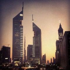 Photo taken at Emirates Towers أبراج الإمارات by Dr. Mahmoud G. on 5/15/2013
